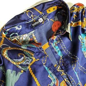 Boohoo Silk Blouse